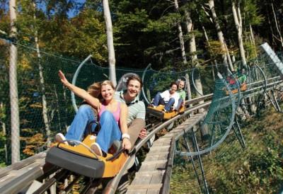 Alpsee Coaster – auf Schienen den Berg hinunter